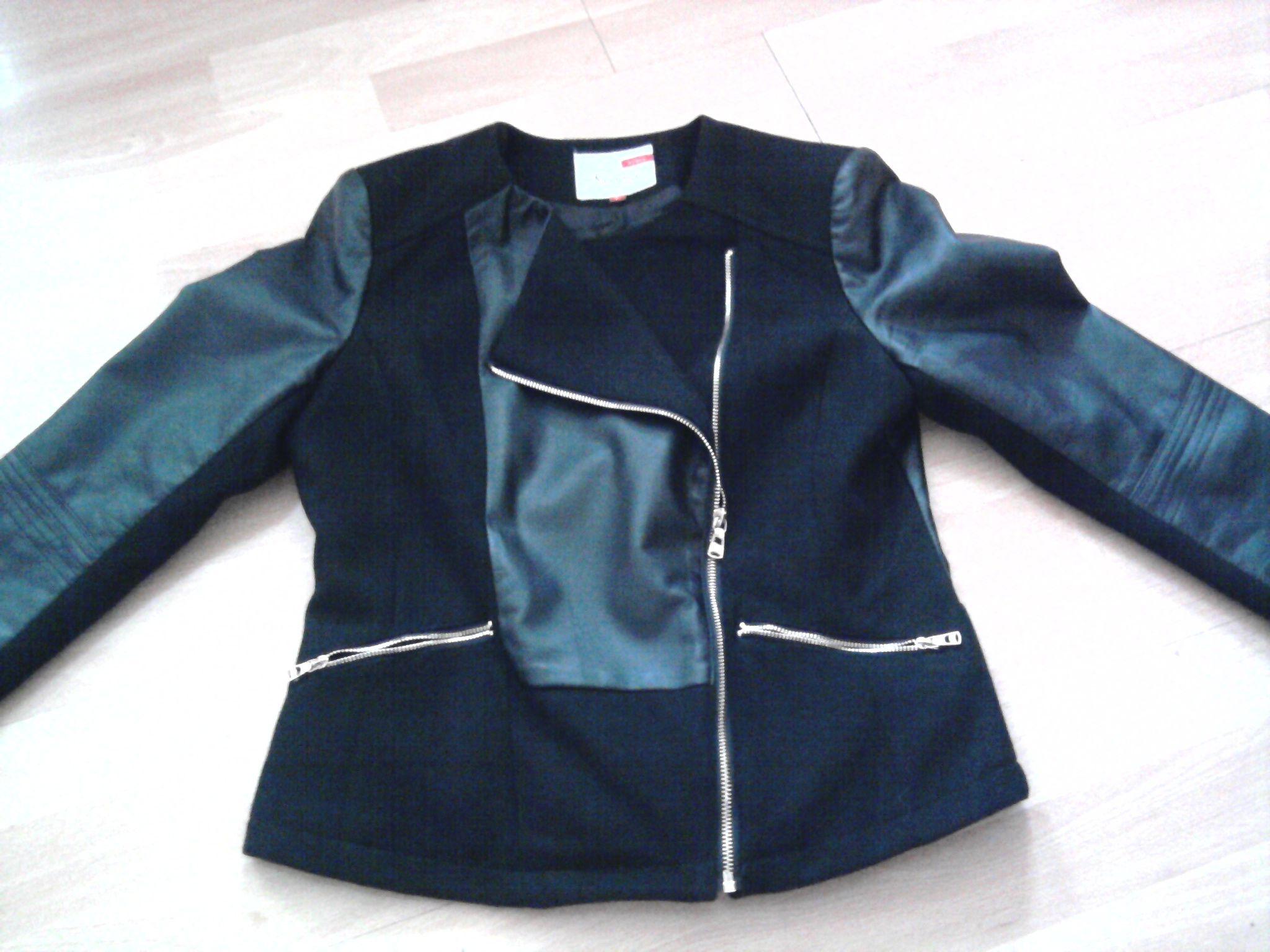 06bb474501c černá kožená bunda