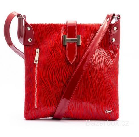 Červená kabelka přes rameno 4bf55d4cc40