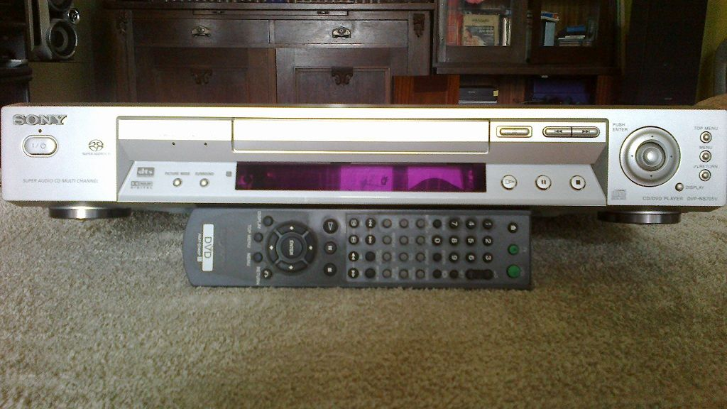 DVD Sony - NS705V