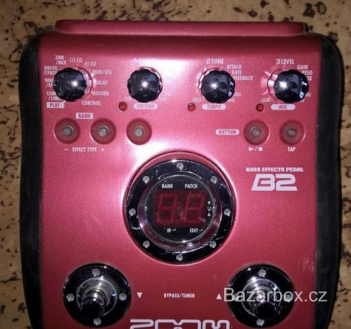 Guitar Effects procesor ZOOM GFX - Bass Effects Pedal ZOOM
