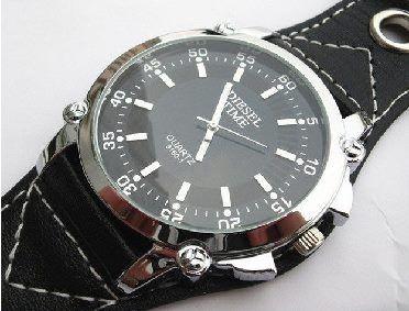 Kožené hodinky Diesel (nové) - bazar  dab213fa42d