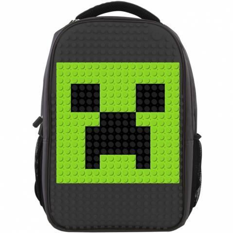 minecraft pixel školní batoh 2 sady pixelů zdarma školní rok je ...