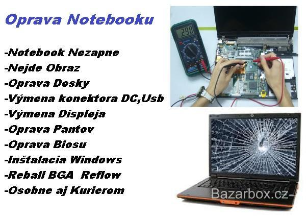 Servis Notebooku-Oprava notebooku