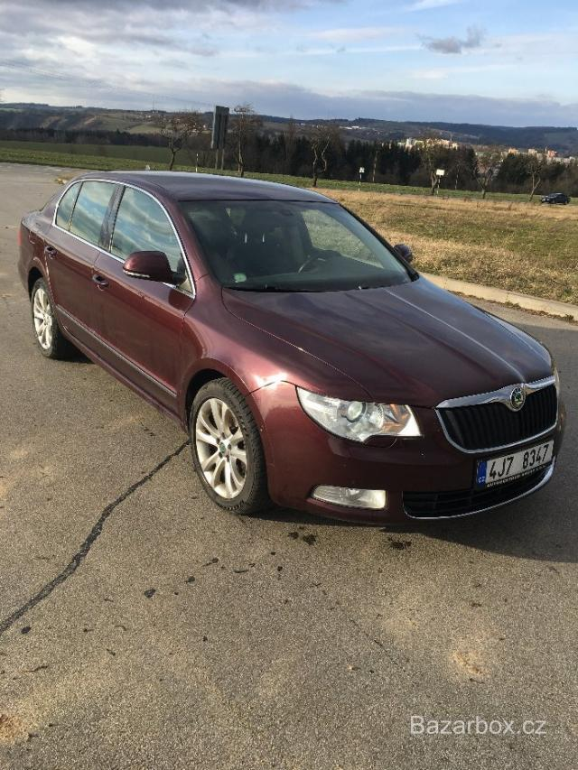 Škoda Superb 2 2.0 TDI 4x4 125kW