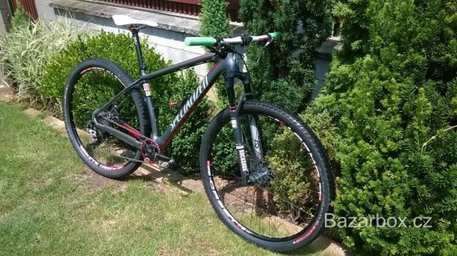 Specialized Stumpjumper HT Carbon 2013, vel. M. Vidlice Rock Shox SID