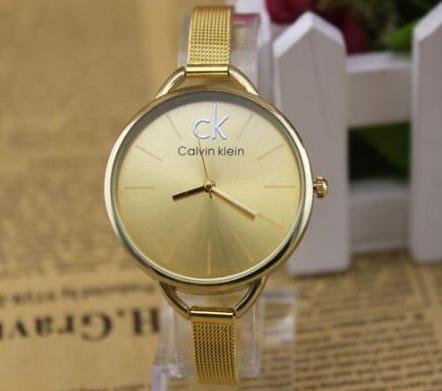 Zlaté hodinky Calvin Klein (nové) - bazar  7a2f3c279a